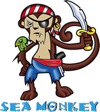 SEA MONKEY LOGO