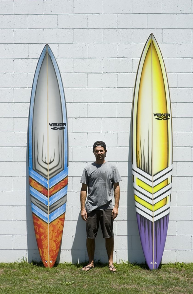 Visser's Jaws boards