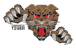 CYBERNETIC TIGER LOGO