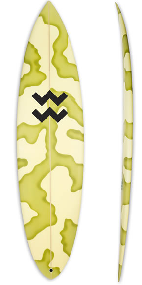 Lenny the ox surfboard