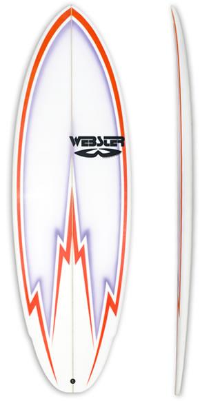 Mod Rocker Surfboard